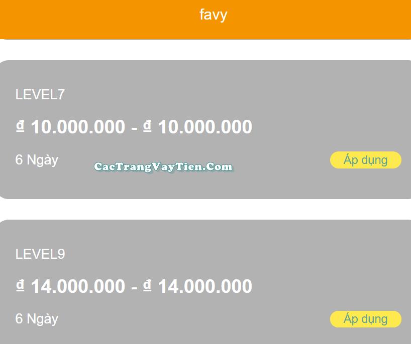 Webapp favy